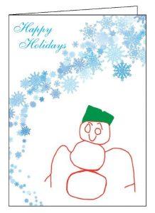 snowman-card-open