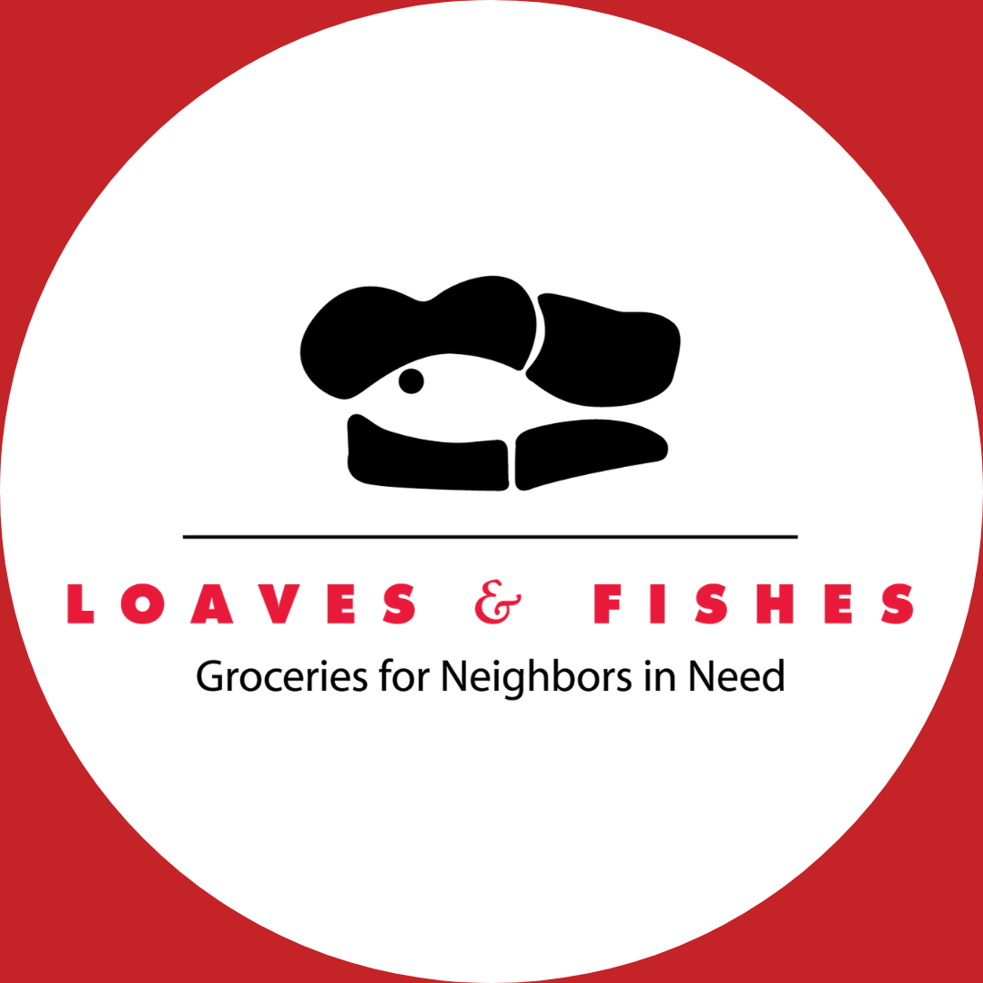 Loaves & Fishes Button